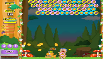bubbel shooter game